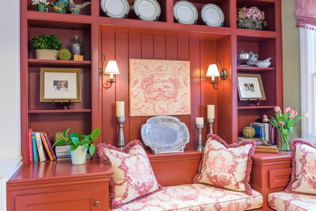 Distinctive interior design tip bookshelves hoskins for Distinctive interior designs