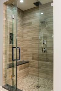 distinctive interior design tip: frameless glass shower doors